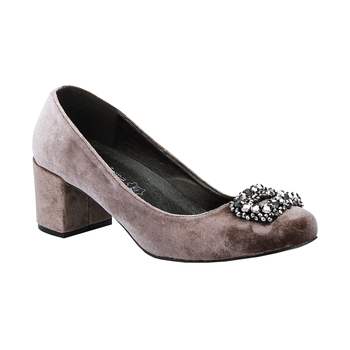 Zapato high heels gris