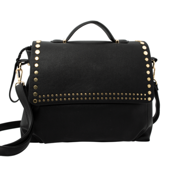 Bolso remaches glam