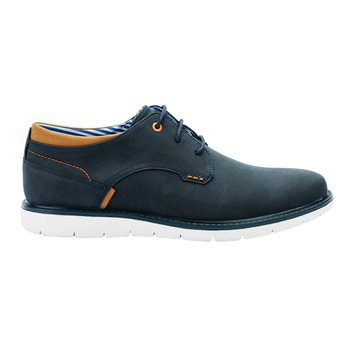 Zapato Leather Navy