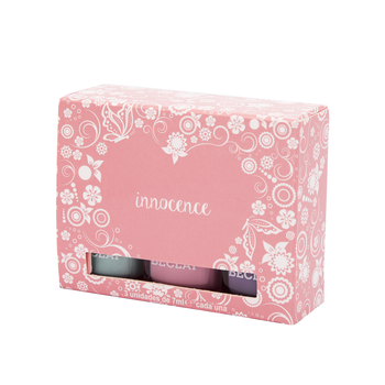 Set de 3 esmaltes innocence